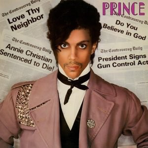 Album cover: Controversy by Prince