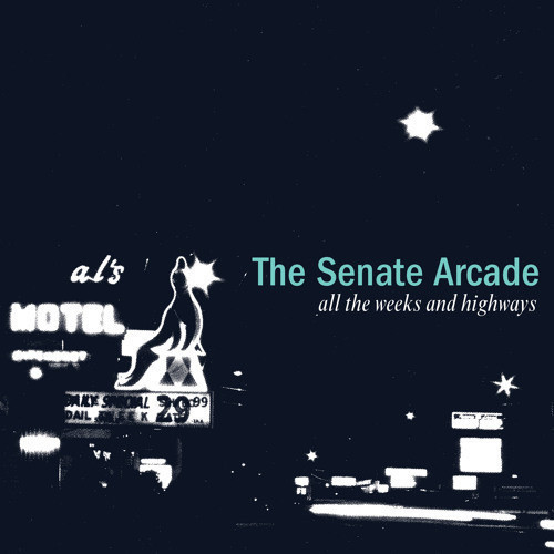 """Album cover: The Senate Arcade, """"All the Weeks and Highways�"""